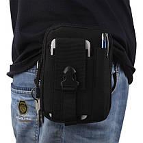 Тактическая (поясная) сумка - подсумок с ремнём с системой M.O.L.L.E , фото 3
