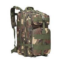 Тактический Рюкзак Штурмовой, городской, военный, туристический For-Tactic на 45л Зеленый Камуфляж