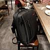 """Стильный городской рюкзак антивор на 20л TIGERNU T-B3269 спортивный , сумка для ноутбука 15,6"""" с USB, Черный, фото 2"""