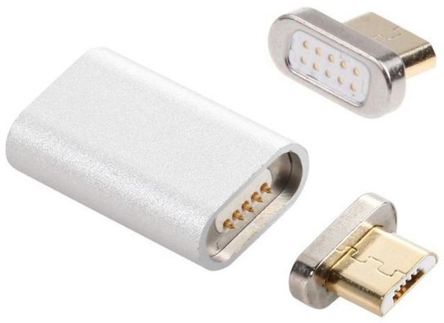 Магнитный адаптер переходник micro USB