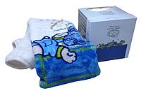 Детский плед в кроватку Karaca Home - Mr. Pati голубой 100*120