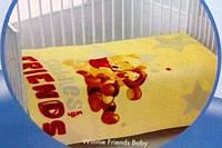 Плед - покрывало для младенцев Тас Winnie Friends Baby