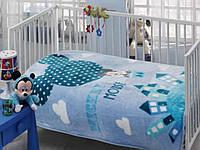 Плед - покрывало для младенцев Тас Mickey Mouse Ballon Baby