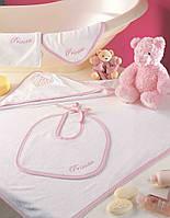 Набор полотенец для младенцев Тас Princess Seti розовый