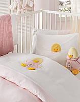 Детский набор в ванную для младенцев Karaca Home Duck розовый