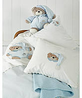 Детский набор в ванную для младенцев Karaca Home Bear голубой