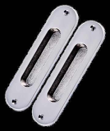 Комплект ручок для розсувних дверей SDH 02 SN (Матовий нікель), фото 2