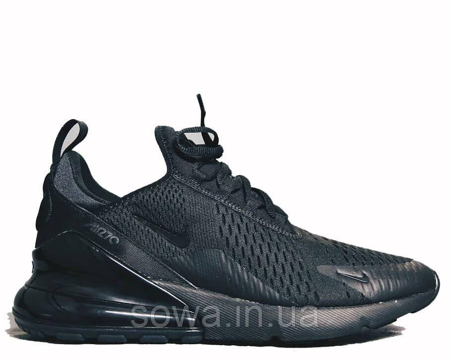 "✔️ Кроссовки Nike Air Max 270 ""Black"""