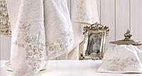 Полотенце Irya Wedding - Bride молочное 50х90