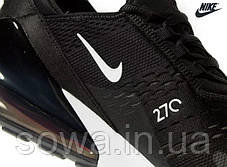 "✔️ Кроссовки Nike Air Max 270 ""Black/White""  , фото 2"