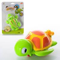 Заводная игрушка 518AB, 13см, для купания, 2 вида (крокодил, черепаха)