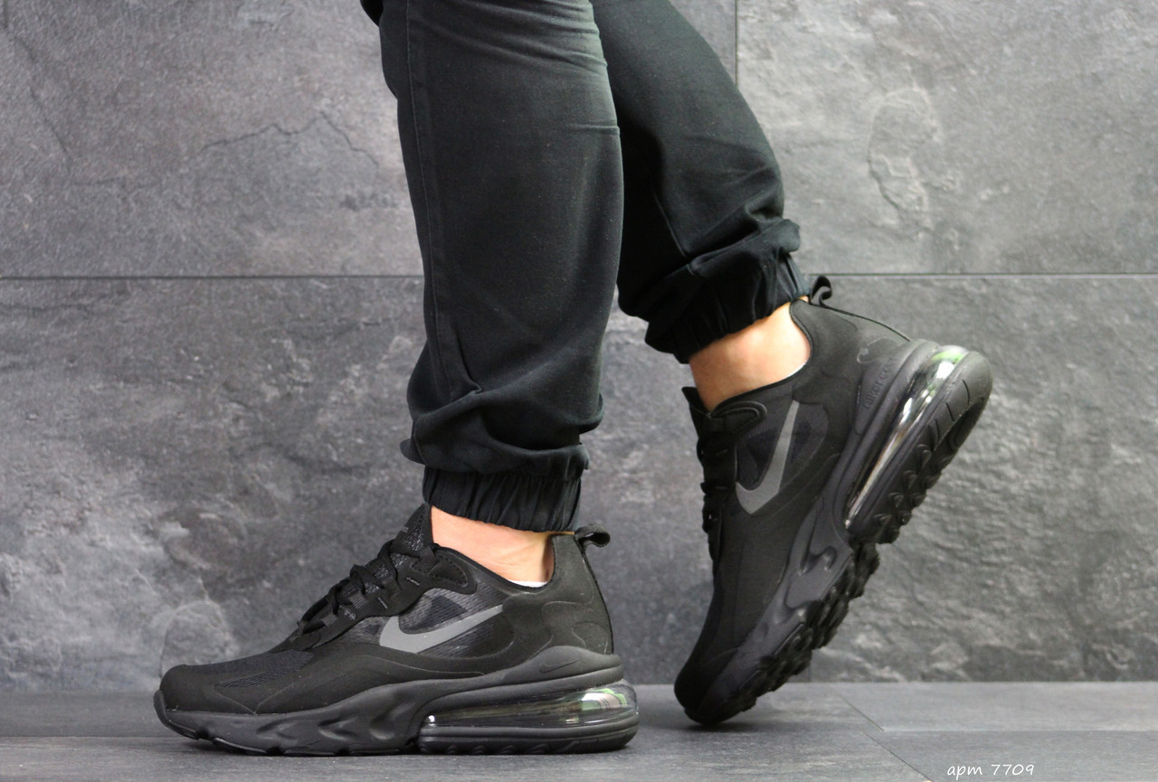 b37795dc Кроссовки мужские Nike Air Max React 270 в стиле Найк Аир Макс Реакт,  тектсиль,