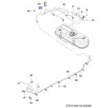 Трубка топливная фильтр выход, Авео Т250 Вида, 95977865, GM, фото 3