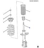 Амортизатор передний правый, Авео T300, GM, 95917155, фото 4