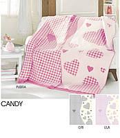 Плед Aksu Candy розовый 180x220