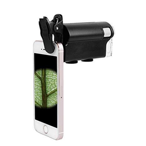 Портативний мікроскоп оптичний 60Х-100Х