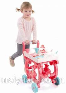 Набор посуды Smoby Disney Princess Тележка 310572