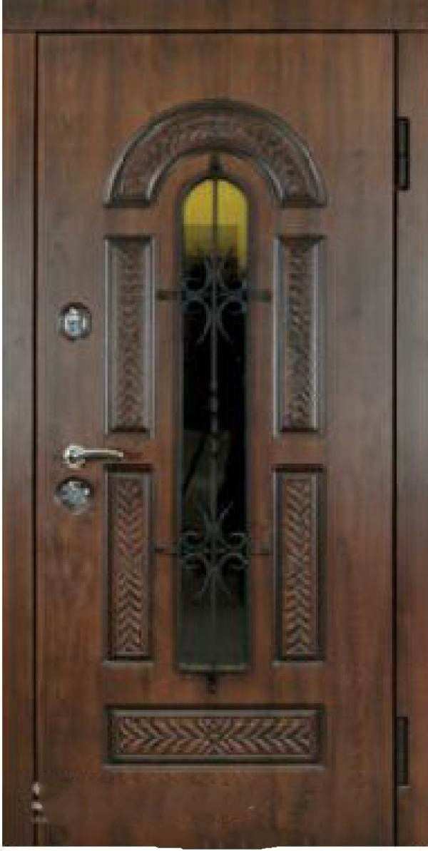 Входные двери Стилгард Серия RESISTE Vicont Glass