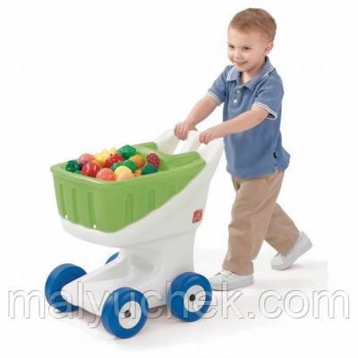 STEP2 Зелений візок для закупок 8960