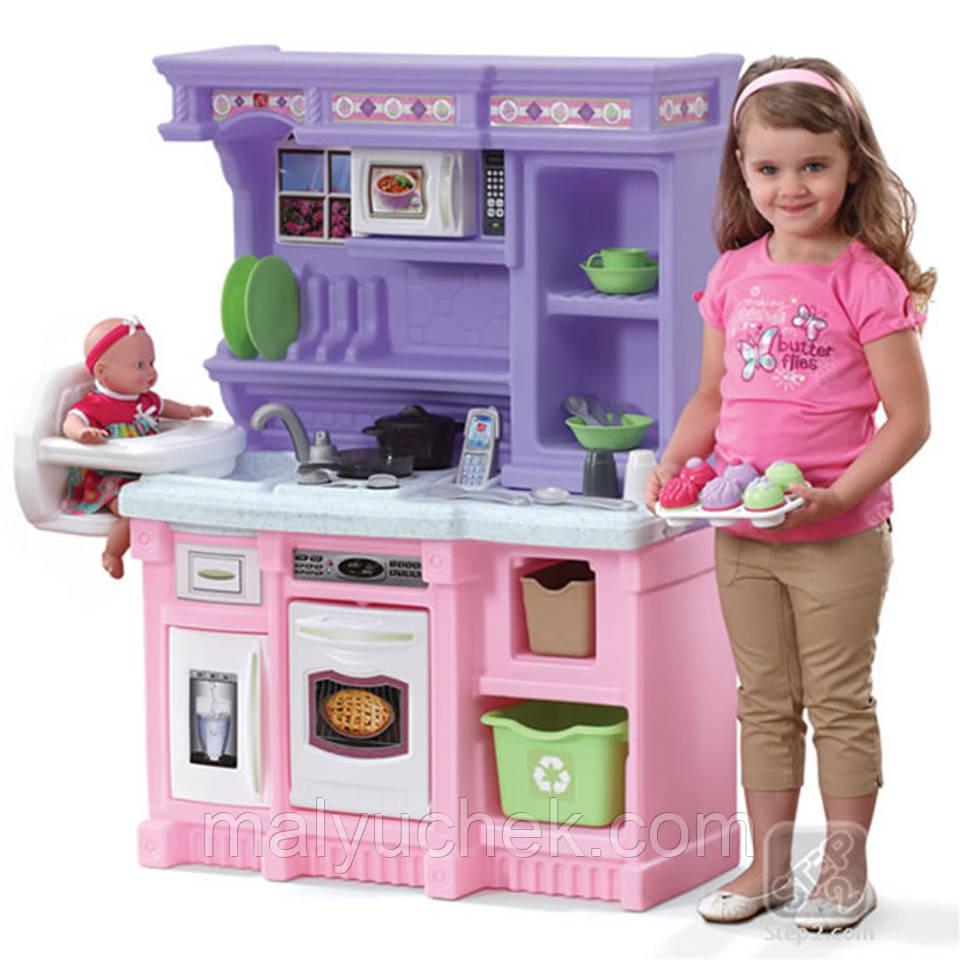 STEP2 Кухня з кріслом розова з звуком 8251