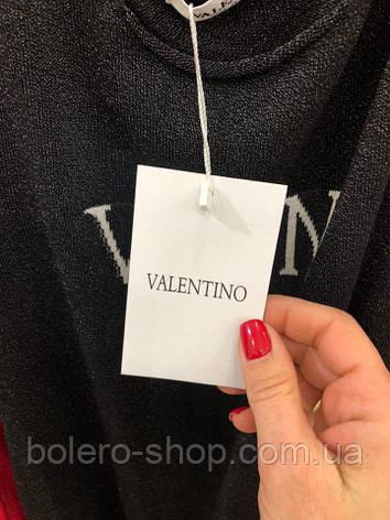 Блуза женская Valentino черная, фото 2