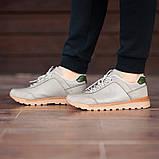 Мужские кроссовки South Apache Dk.Gray, кожаные мужские классические кроссовки , фото 2
