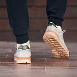 Мужские кроссовки South Apache Dk.Gray, кожаные мужские классические кроссовки , фото 7