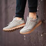Мужские кроссовки South Apache Dk.Gray, кожаные мужские классические кроссовки , фото 3
