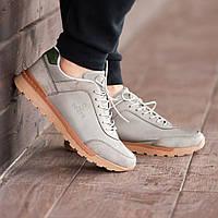 Мужские кроссовки South Apache Dk.Gray, кожаные мужские классические кроссовки
