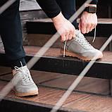 Мужские кроссовки South Apache Dk.Gray, кожаные мужские классические кроссовки , фото 5