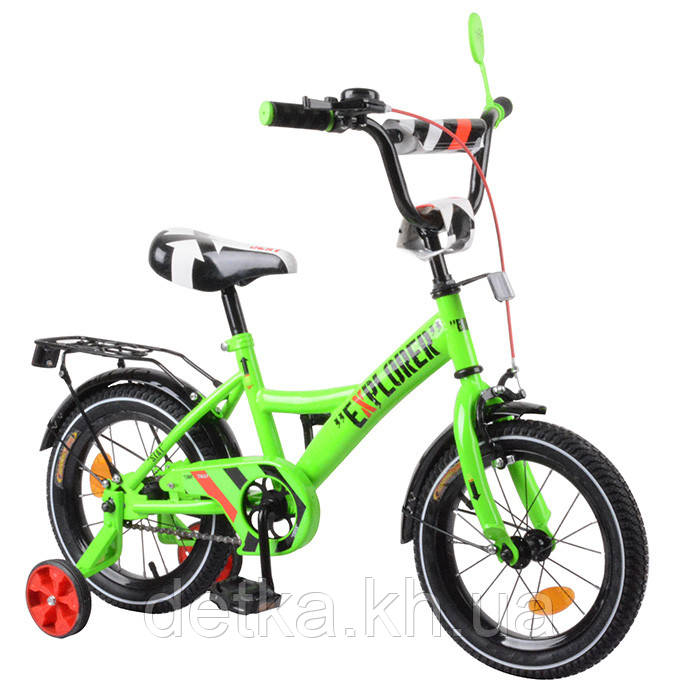 "Велосипед EXPLORER 14"" T-21418 green"