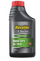 Масло моторное TEXACO HAVOLINE DIES EXTRA 10W-40 1л, полусинтетическое моторное масло