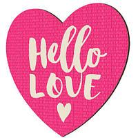 Панно Серце Hello Love