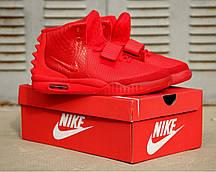 e5b7a13e Мужские кроссовки Nike Air Yeezy 2 SP Red October (найк аир изи 2 ...