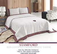 Покрывало хлопковое U.S. Polo Assn - Stamford 240*260