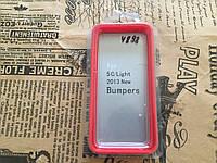 Чохол   пластик з накладкою Iphone 5S