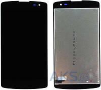 Дисплей для телефона LG D390 F60, D390N F60, D392 F60 Dual + Touchscreen Original Black
