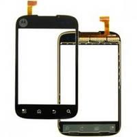 Тачскрин (сенсор) Motorola XT301, black (чёрный)