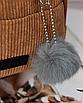 Рюкзак женский мини сумка трансформер маленький замшевый бартахный вельветовый коричневый песочный, фото 5