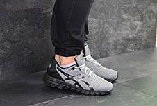 Мужские кроссовки Asics Gel-Quantum 360,сетка,темно серый, фото 2