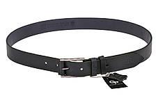 Кожаный ремень Rigatura, чёрный , фото 3