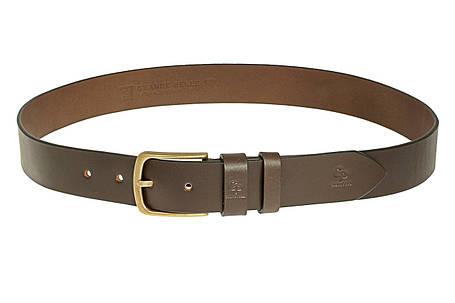 Кожаный ремень Classico Bronzo, коричневый , фото 2