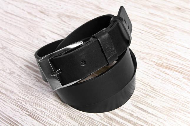 Кожаный ремень Corsa, черный, фото 2