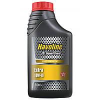 Масло моторное TEXACO HAVOLINE EXTRA 10W-40 1л, полусинтетическое моторное масло