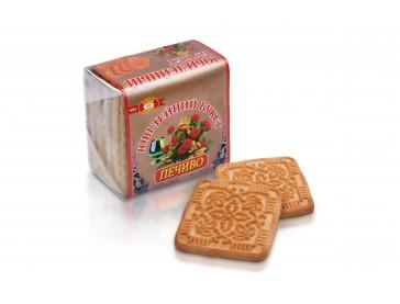 Печенье фасованное Букет Юбилейный 55 г / 70 шт в ящике (ХБФ)