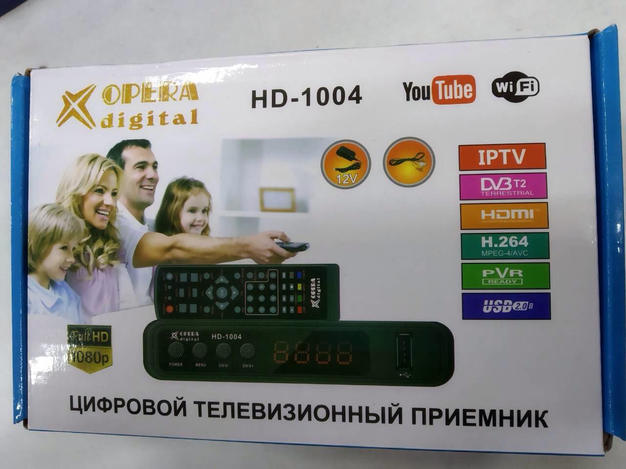 Цифровой ТВ тюнер Т2 Opera HD 1004