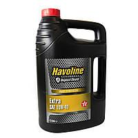 Масло моторное TEXACO HAVOLINE EXTRA 10W-40 5л, полусинтетическое моторное масло