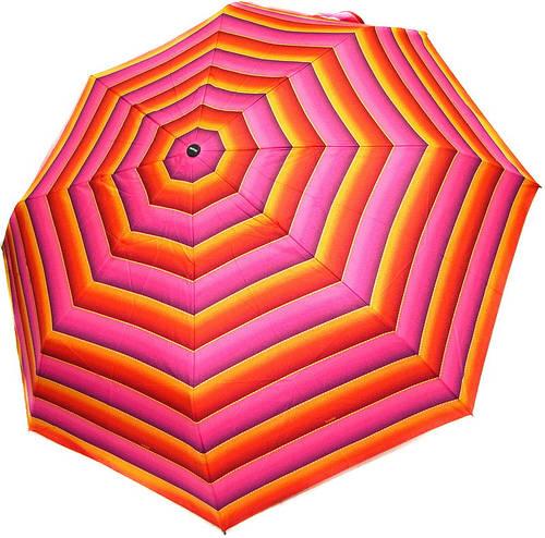 Стильный женский зонт, полный автомат DOPPLER 7441465ST-1 полосатый