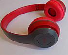 Беcпроводные наушники P47 Bluetooth, MP3, FM, Microphone, фото 3