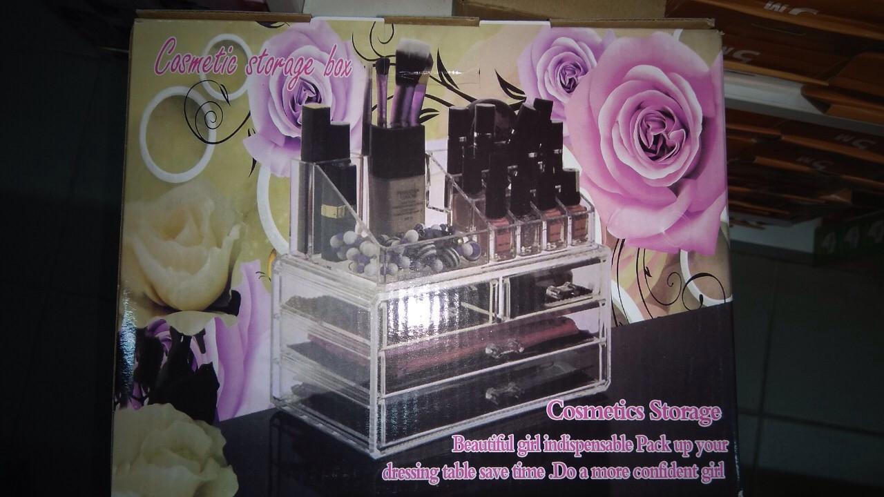 Oрганайзер для косметики Cosmetic Storage Box акриловый